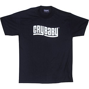 Dunlop Cry Baby T-Shirt Black Extra Large
