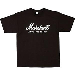 Marshall Logo T-Shirt Black Extra Large