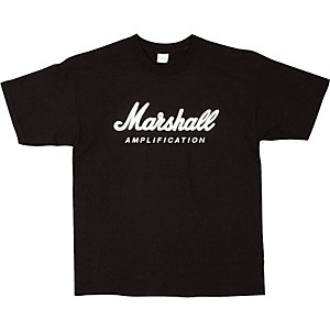 Marshall Logo T-Shirt Black Large