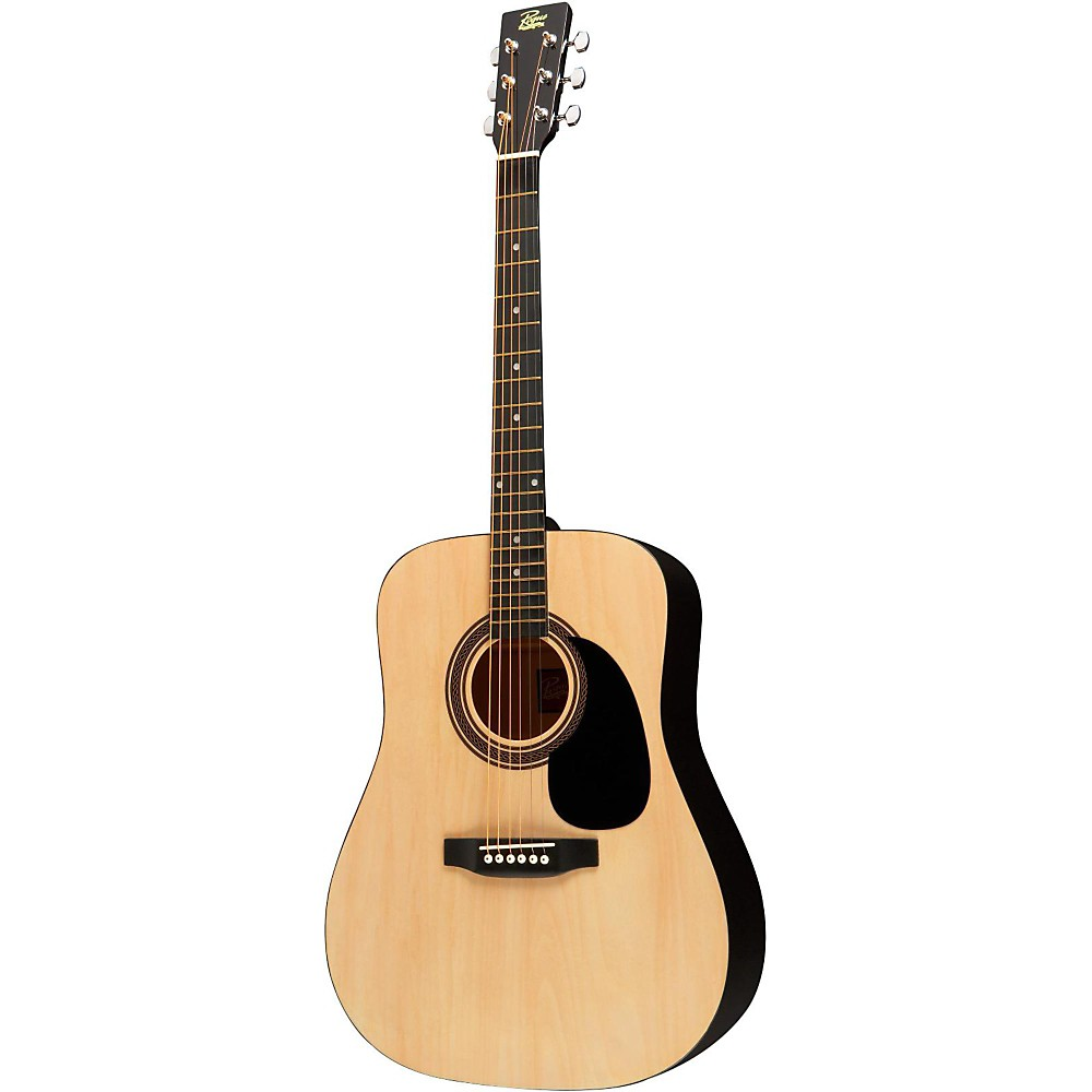 rogue ra 090 dreadnought acoustic guitar natural ebay. Black Bedroom Furniture Sets. Home Design Ideas