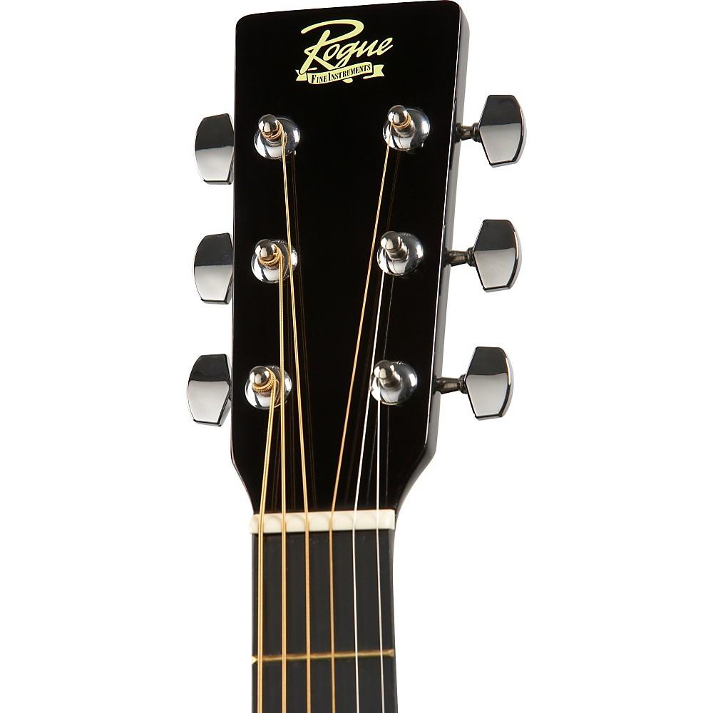 rogue ra 090 dreadnought acoustic guitar natural ebay. Black Bedroom Furniture Sets. Home Design Ideas