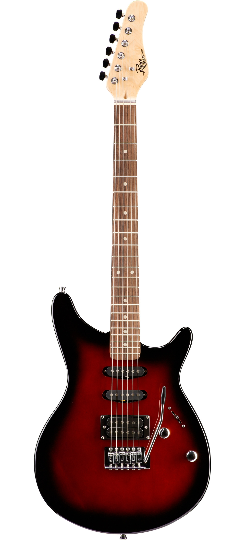 Rogue-Rocketeer-Electric-Guitar-Pack-Red-Burst thumbnail 11
