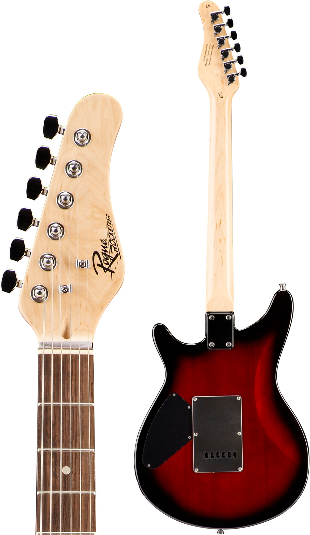 Rogue-Rocketeer-Electric-Guitar-Pack-Red-Burst thumbnail 12