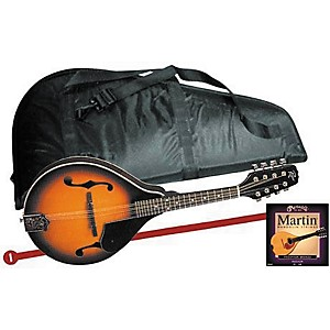 Rogue Mandolin Starter Kit Regular Black