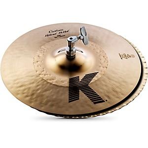Zildjian K Custom Hybrid Hi-Hats Pair 13-1/4
