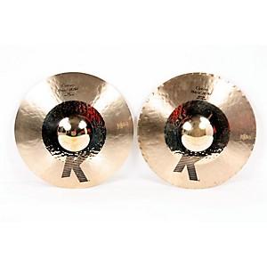 Zildjian K Custom Hybrid Hi-Hats Pair 888365281407