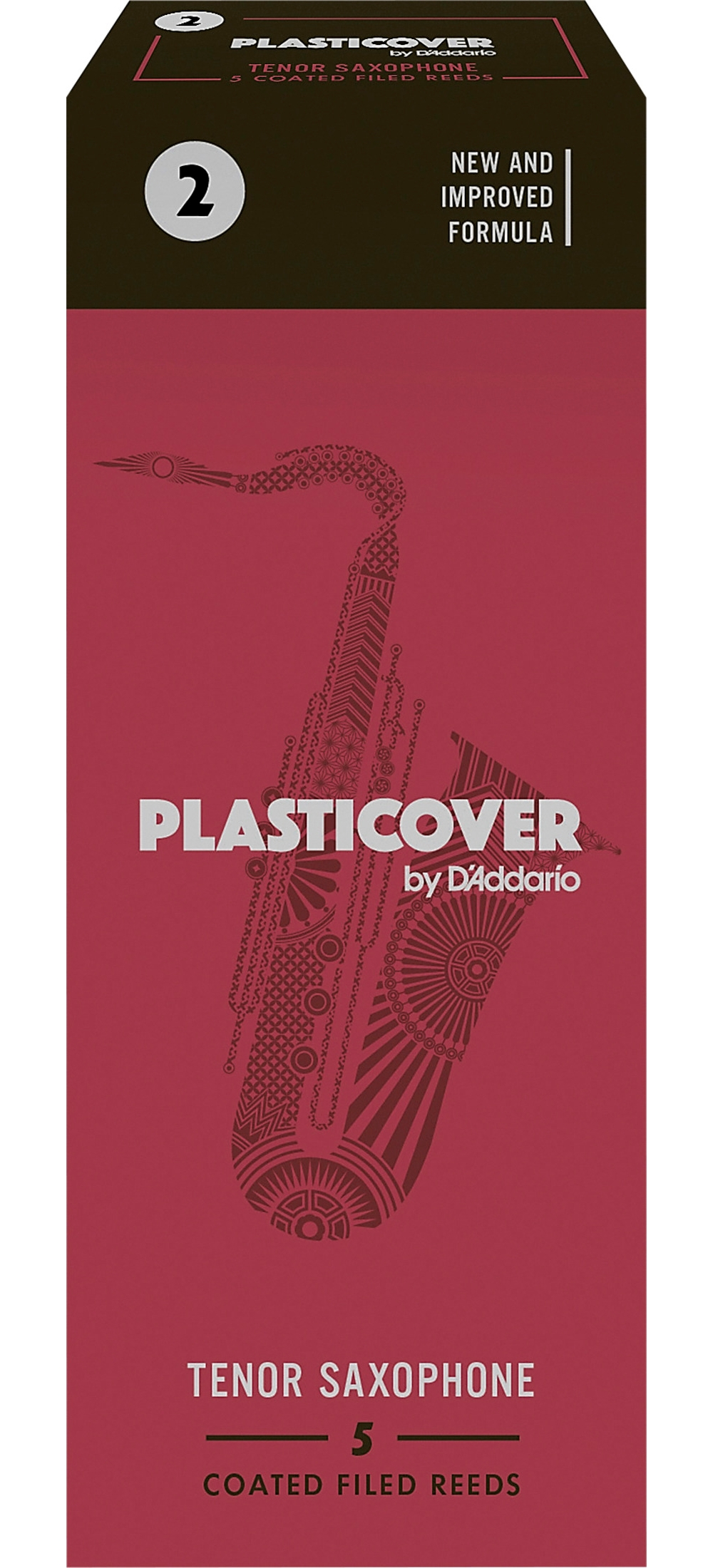 Rico-Plasticover-Tenor-Saxophone-Reeds-Strength-2-Box-of-5 thumbnail 3