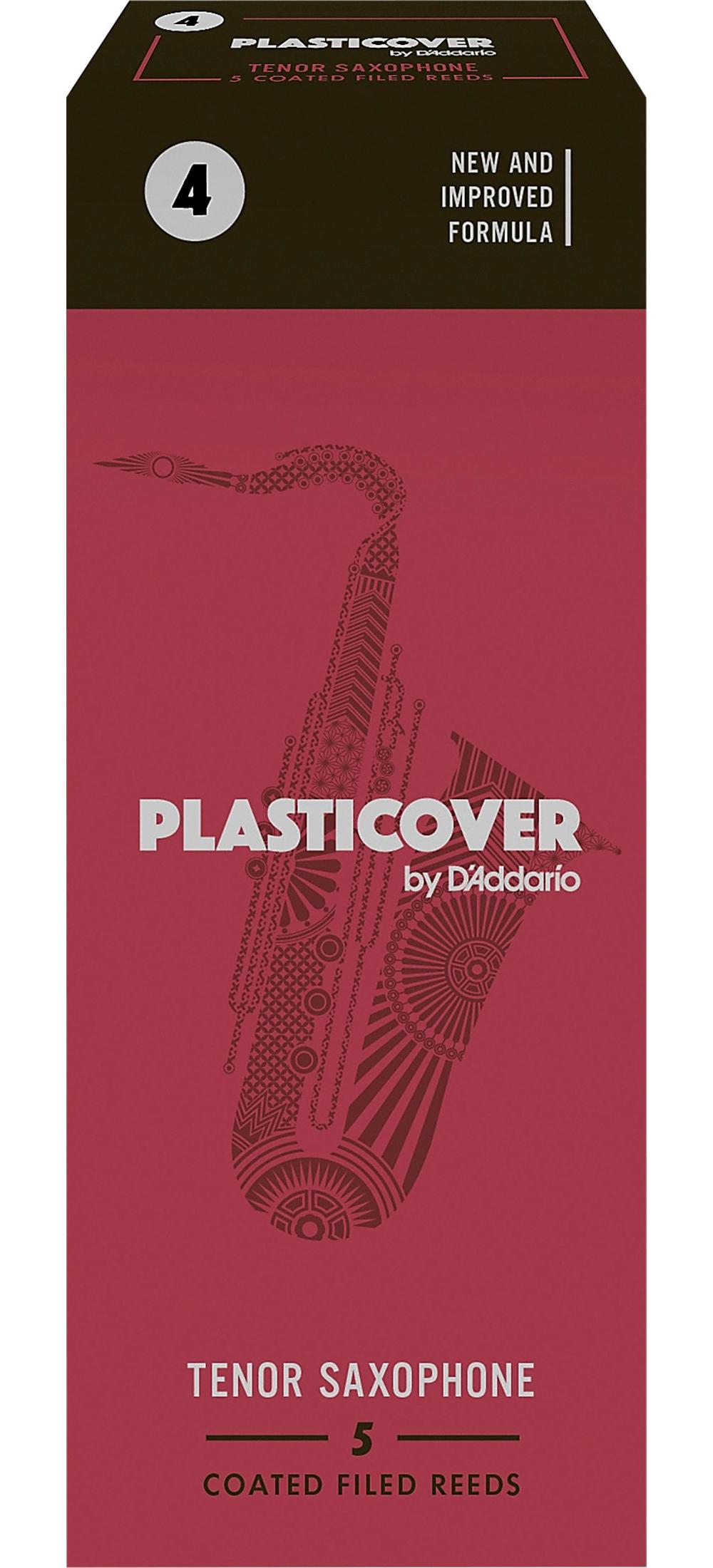 Rico-Plasticover-Tenor-Saxophone-Reeds-Strength-4-Box-of-5 thumbnail 3