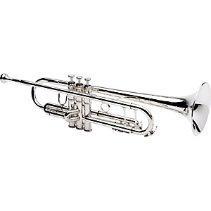 Jupiter 1602S Professional Series Bb Trumpet 1602S Silver - Yellow Brass Bell