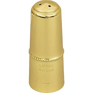 Bonade Alto Saxophone Mouthpiece Cap Gold Lacquer Cap - Regular