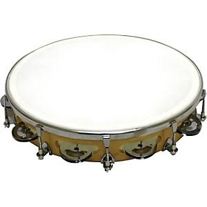 Rhythm Band Tunable Tambourine 9 Pair Jingles Rb930Fj