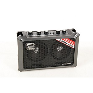 Roland Mobile Cube Battery-Powered Stereo Guitar Combo Amp Black 888365381268