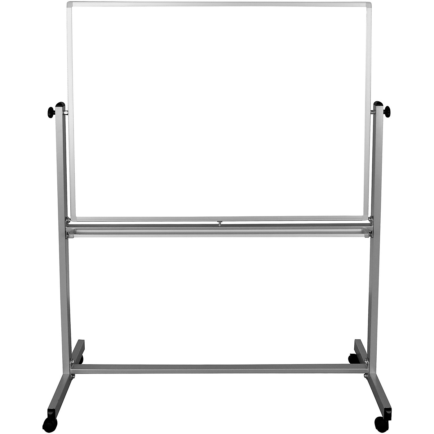 H. Wilson 48x36 Double Sided Mobile Whiteboard thumbnail