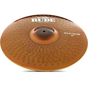 Paiste Rude Wild Crash Cymbal 17 in.