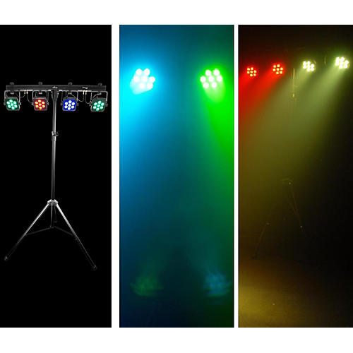 CHAUVET DJ 4BAR Tri USB Tri-Color LED Wash Light Effect System thumbnail