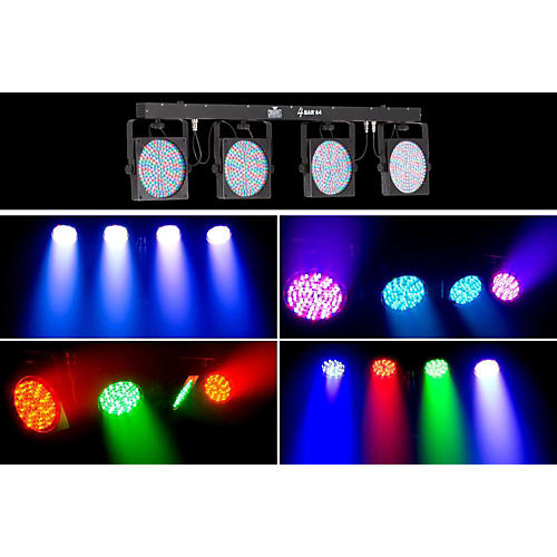 CHAUVET DJ 4BAR64 Complete Stage Wash System-thumbnail