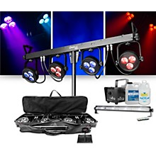 CHAUVET DJ 4Bar LT USB Wash Light System with Jam Pack Emerald Lighting Package