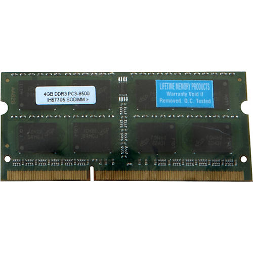 Lifetime Memory Products 4GB MacBook/MacBook Pro DDR3 thumbnail