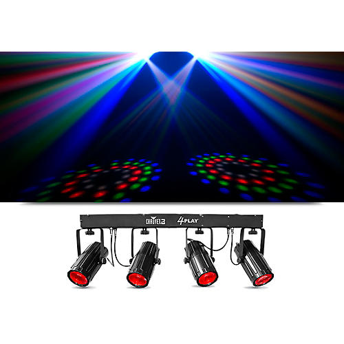 CHAUVET DJ 4PLAY Six-Channel DMX-512 LED Beam Effect System thumbnail