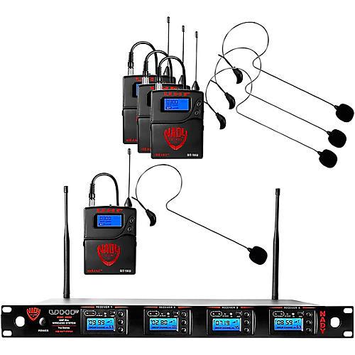Nady 4W-1KU - Quad 1000-Channel Headset Wireless System thumbnail