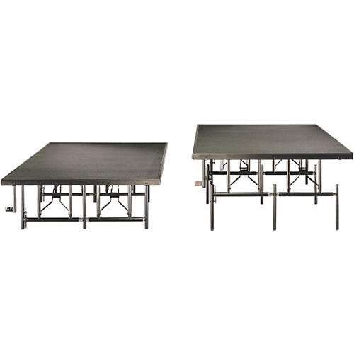 Midwest Folding Products 4x8 Dual-Height Portable Stage & Seated Riser thumbnail