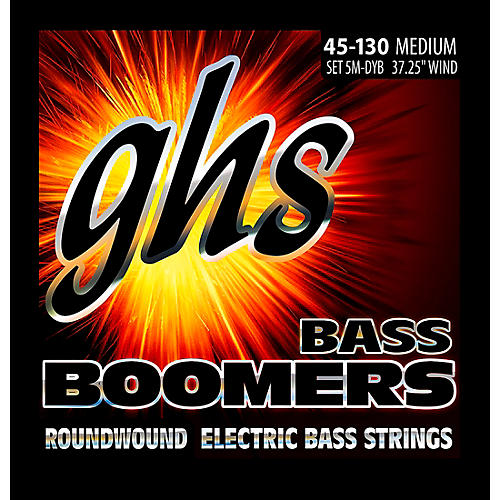 GHS 5-5M-DYB 5-string Bass Strings with Low-B thumbnail