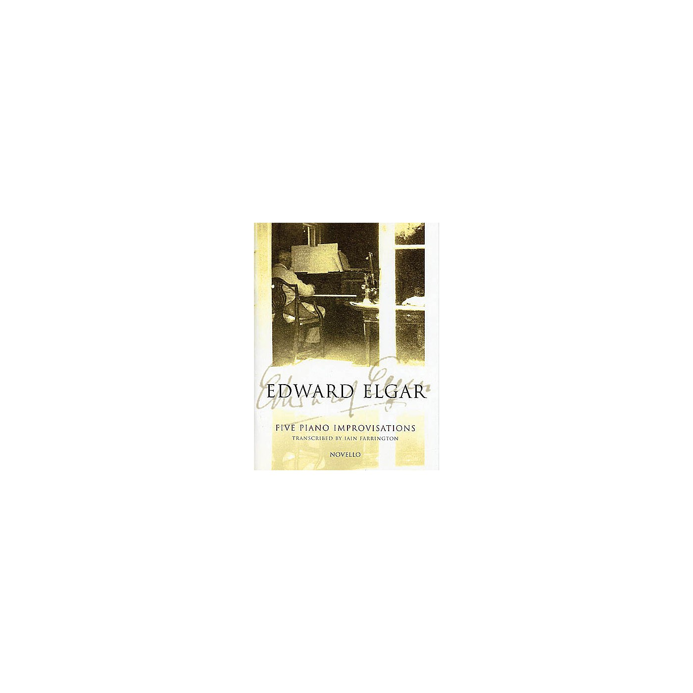 Novello 5 Piano Improvisations Music Sales America Series thumbnail