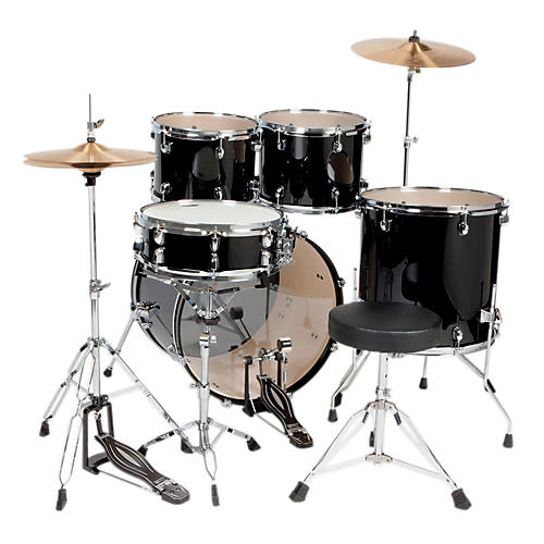 Sound Percussion Labs 5-Piece Complete Drum Set w/ Cymbals & Hardware thumbnail