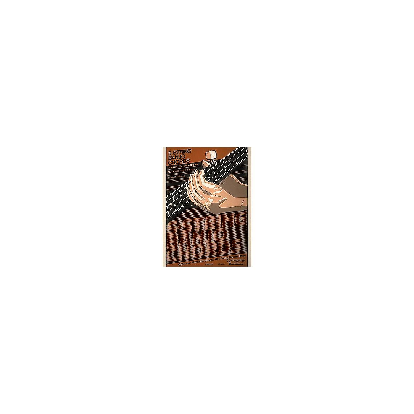 Hal Leonard 5-String Banjo Chord Chart thumbnail