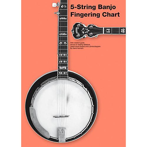 Music Sales 5-String Banjo Fingering Chart thumbnail