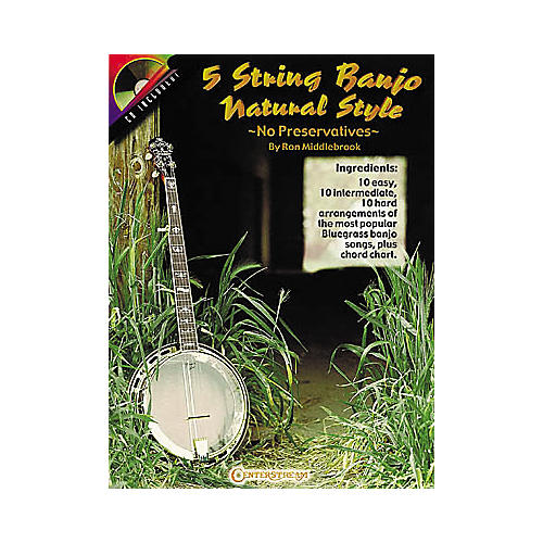 Centerstream Publishing 5 String Banjo Natural Style Book/CD thumbnail