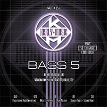 Kerly Music 5-String Bass Guitar Strings - Heavy Nickel Plated