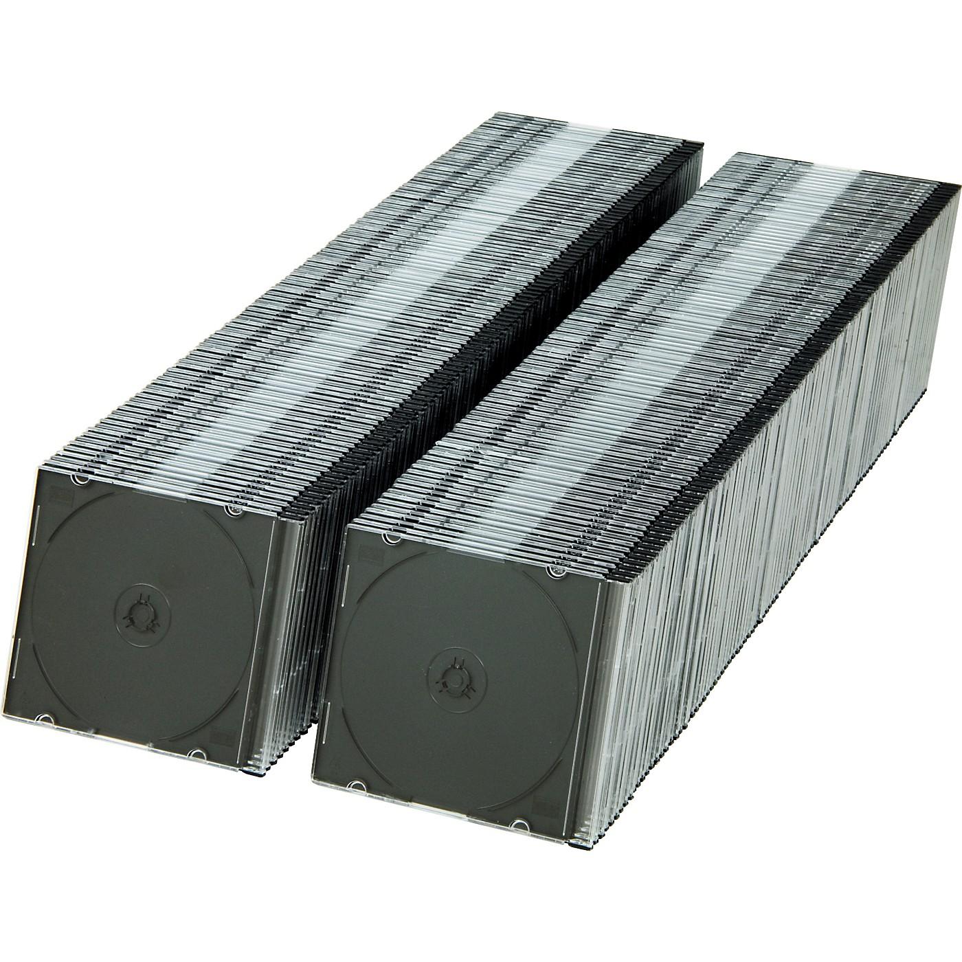 BK Media 5.2 mm Slim CD & DVD Jewel Cases 200-pack thumbnail