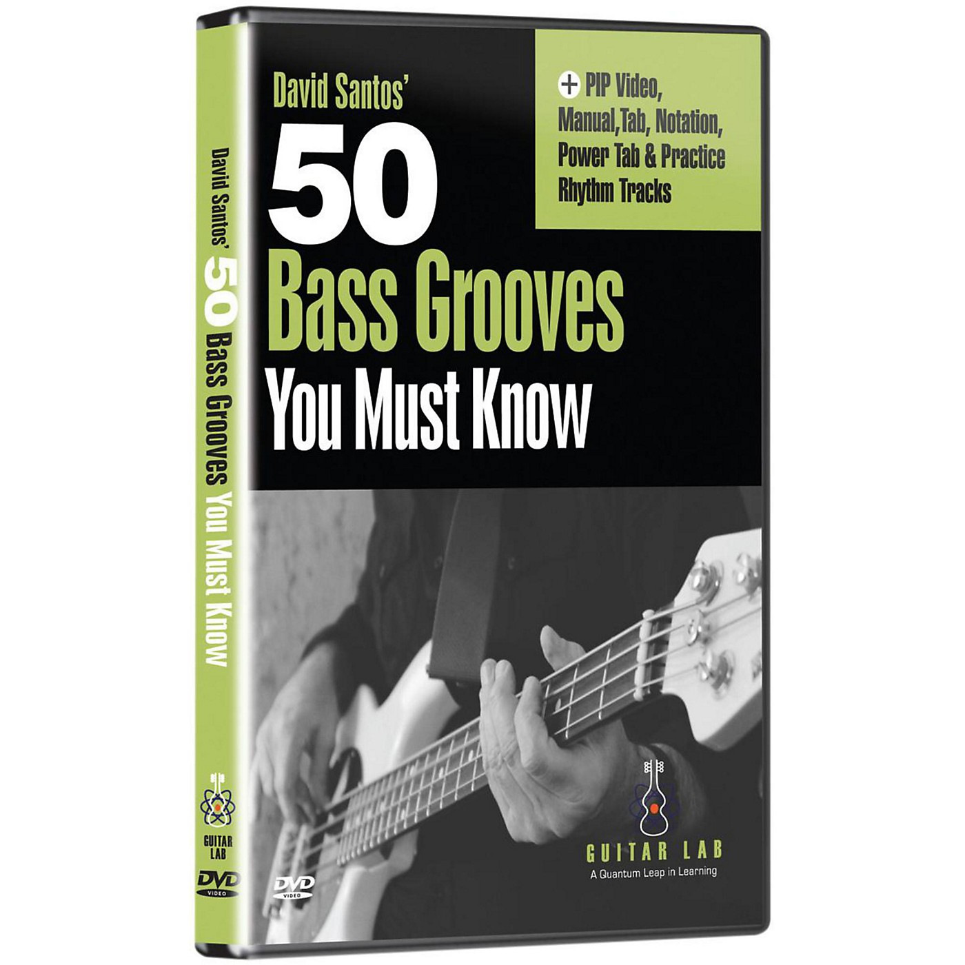eMedia 50 Bass Grooves You Must Know DVD thumbnail