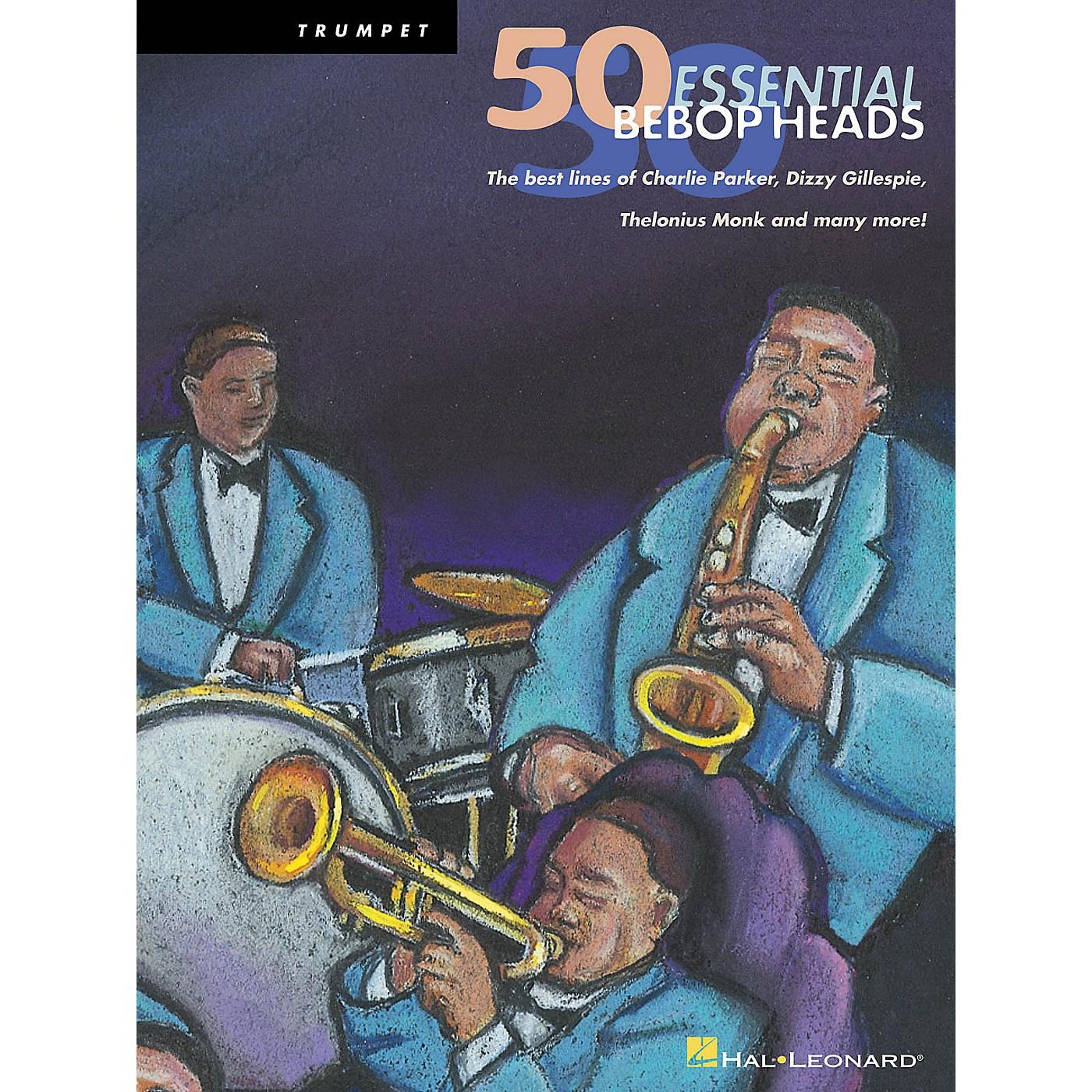 Hal Leonard 50 Bebop Heads for Alto Sax Instrumental Folio Series thumbnail
