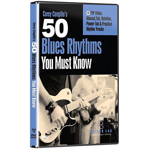 eMedia 50 Blues Rhythms You Must Know DVD thumbnail