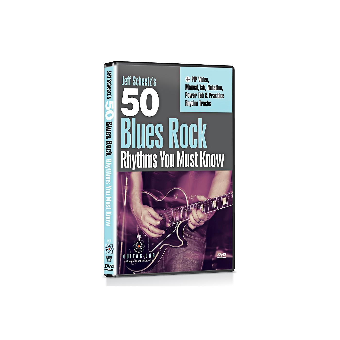 eMedia 50 Blues Rock Rhythms You Must Know DVD thumbnail