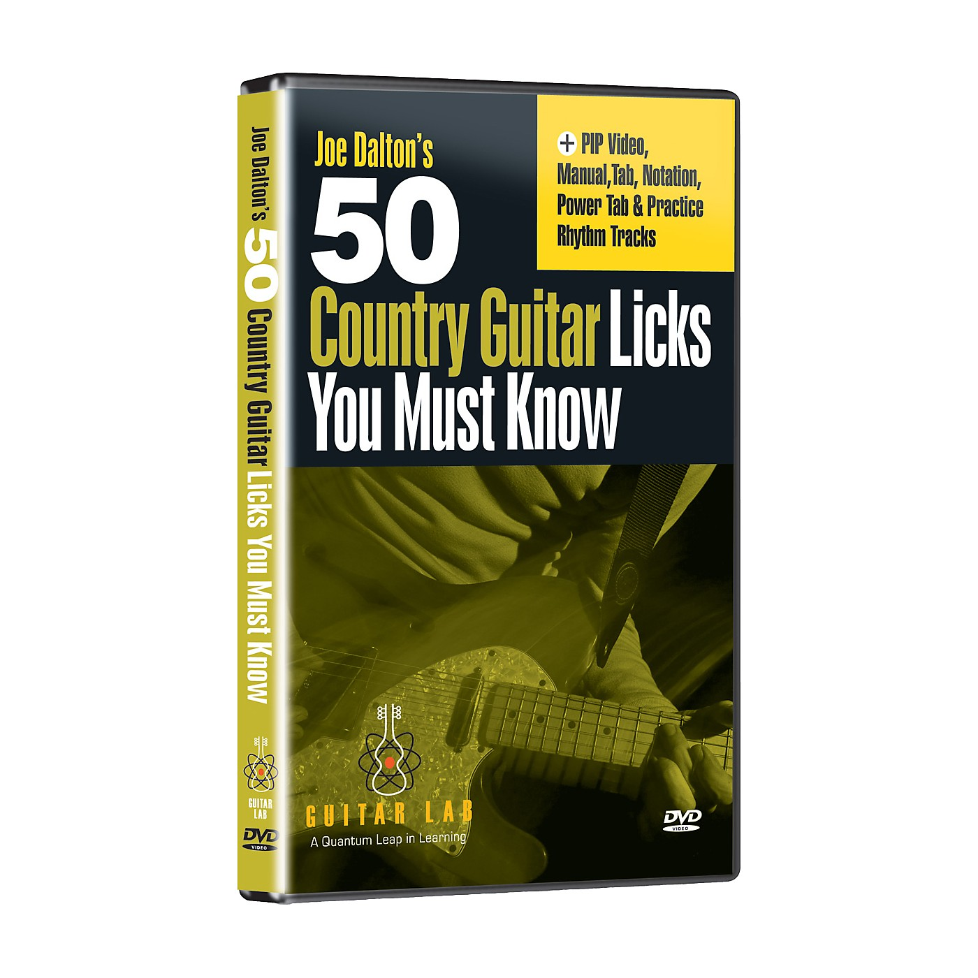 eMedia 50 Country Guitar Licks You Must Know! (DVD) thumbnail