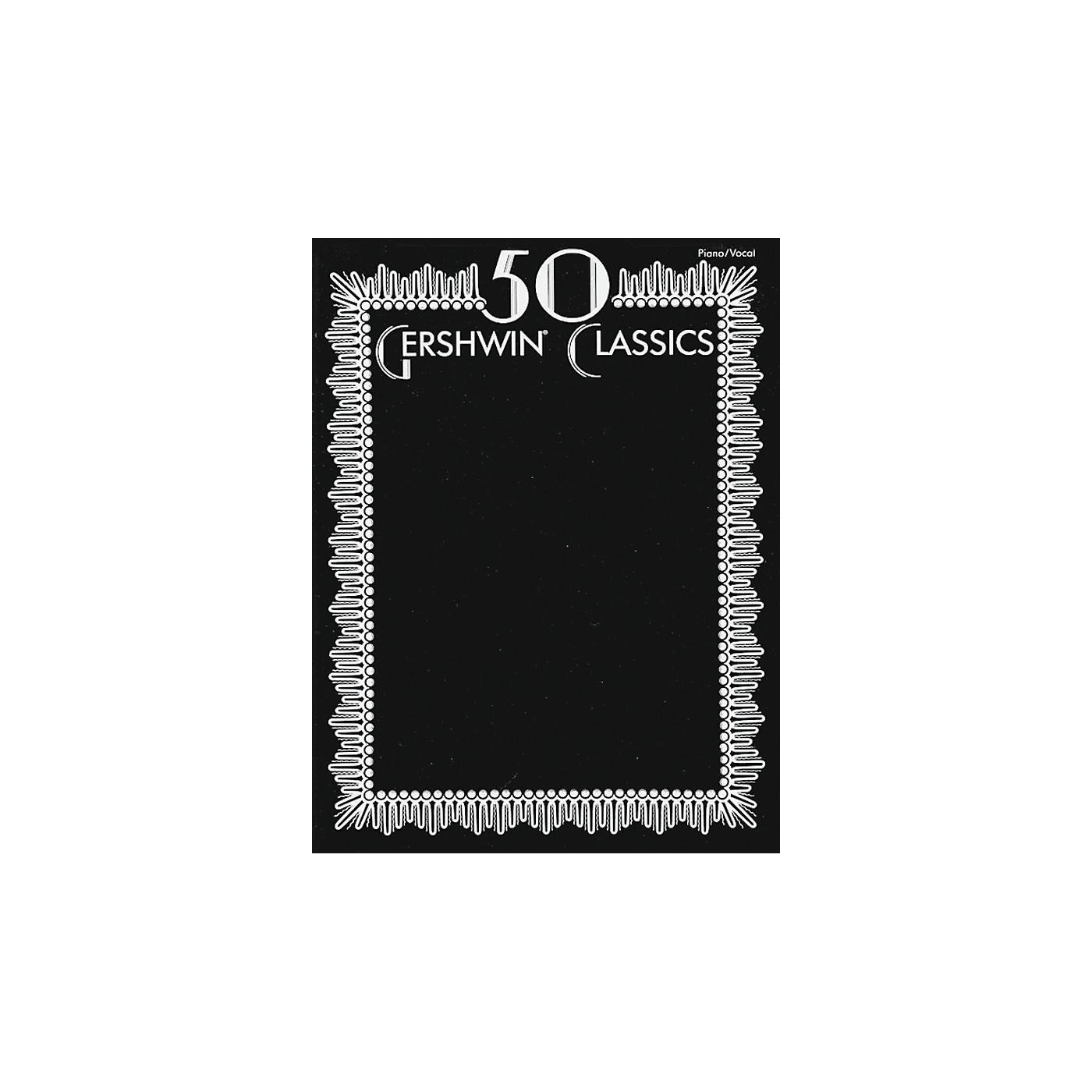 Alfred 50 Gershwin Classics Piano/Vocal/Chords thumbnail