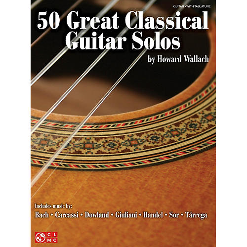 Cherry Lane 50 Great Classical Guitar Solos Guitar Series Softcover thumbnail