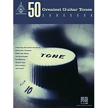 Hal Leonard 50 Greatest Guitar Tones Songbook
