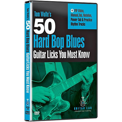 eMedia 50 Hard Bop Blues Licks You Must Know DVD thumbnail