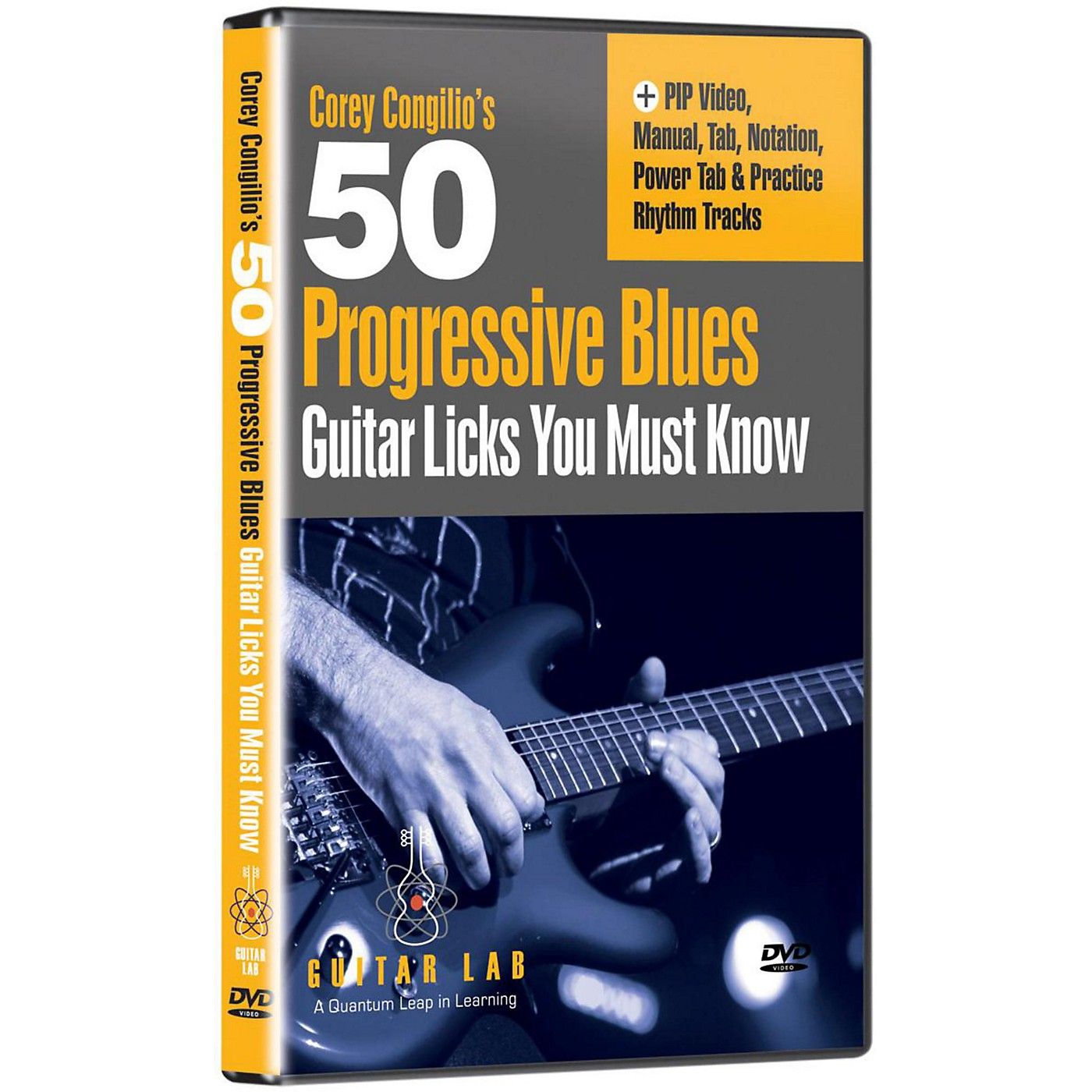 eMedia 50 Progressive Blues Licks You Must Know DVD thumbnail