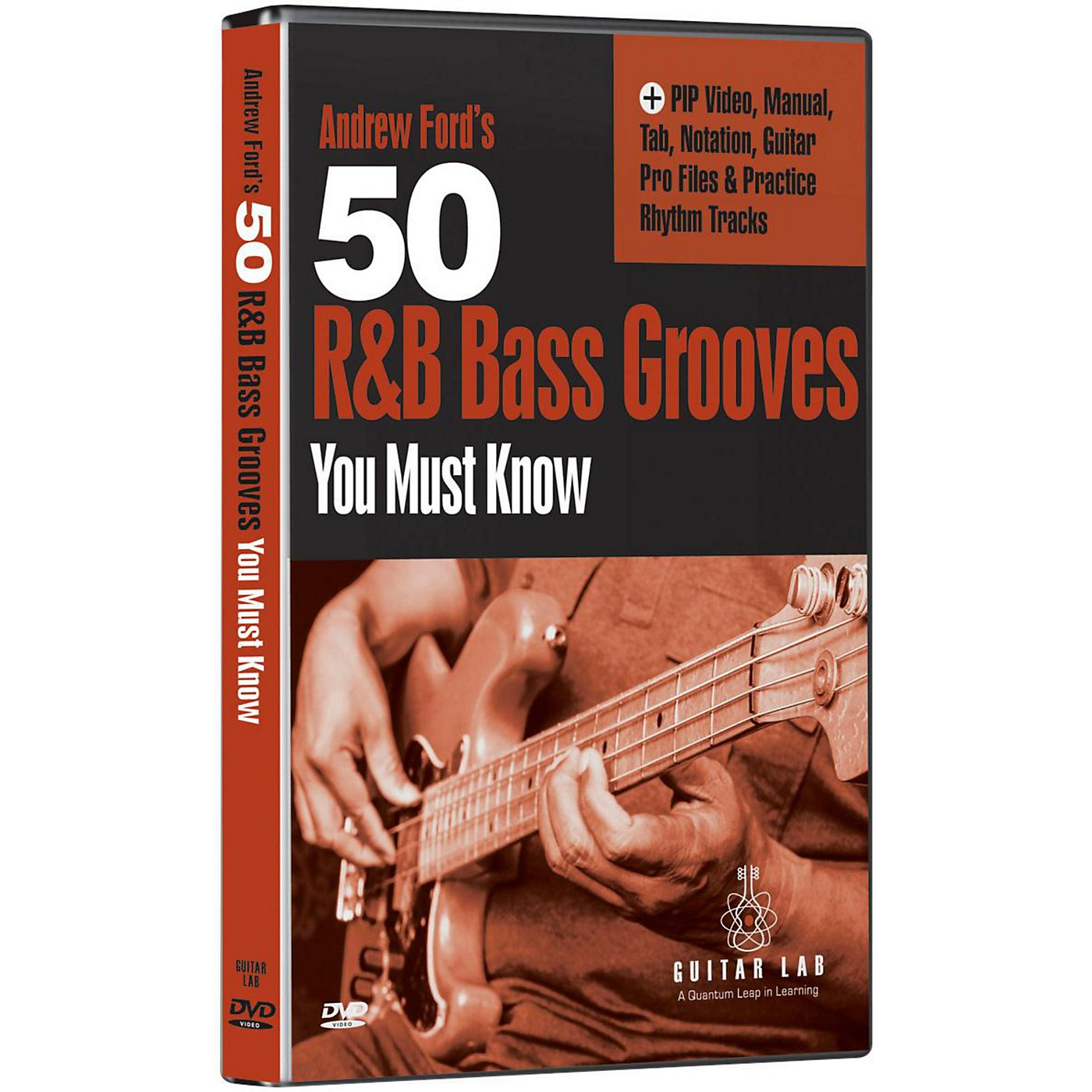 eMedia 50 R&B Bass Grooves You Must Know DVD thumbnail