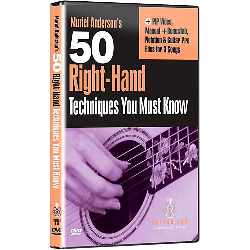 Emedia 50 Right Hand Techniques You Must Know DVD-thumbnail
