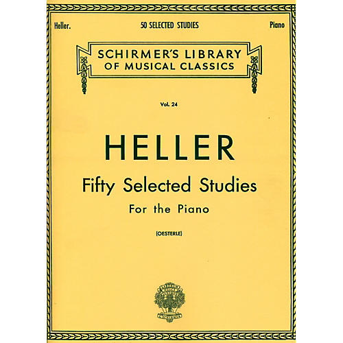 G. Schirmer 50 Selected Studies for Piano By Heller-thumbnail