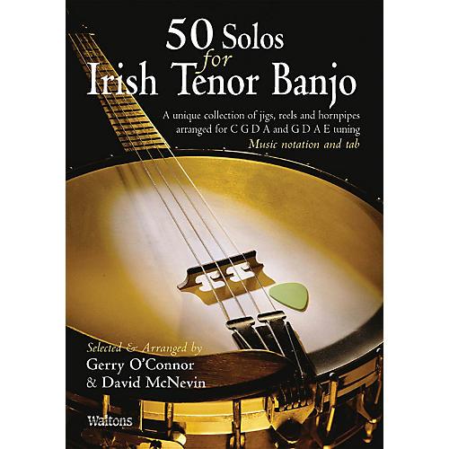 Waltons 50 Solos for Irish Tenor Banjo Waltons Irish Music Books Series Softcover thumbnail