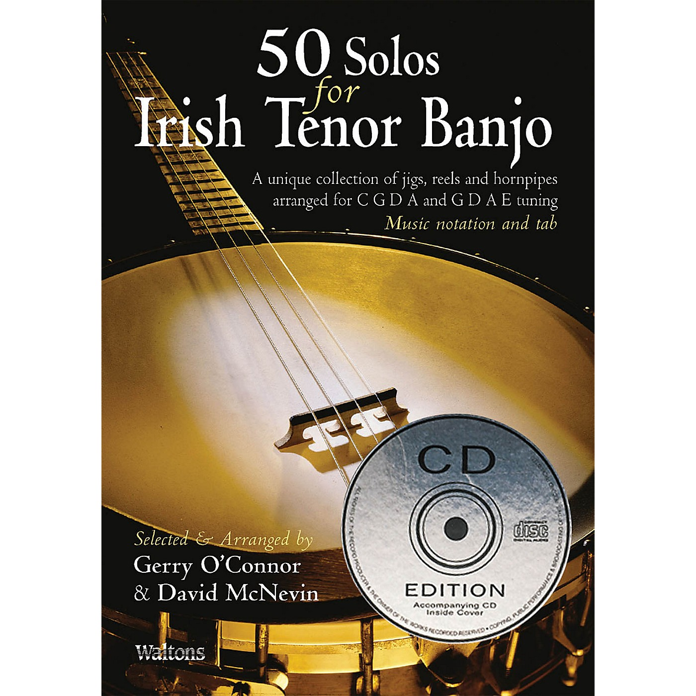 Waltons 50 Solos for Irish Tenor Banjo Waltons Irish Music Books Series thumbnail