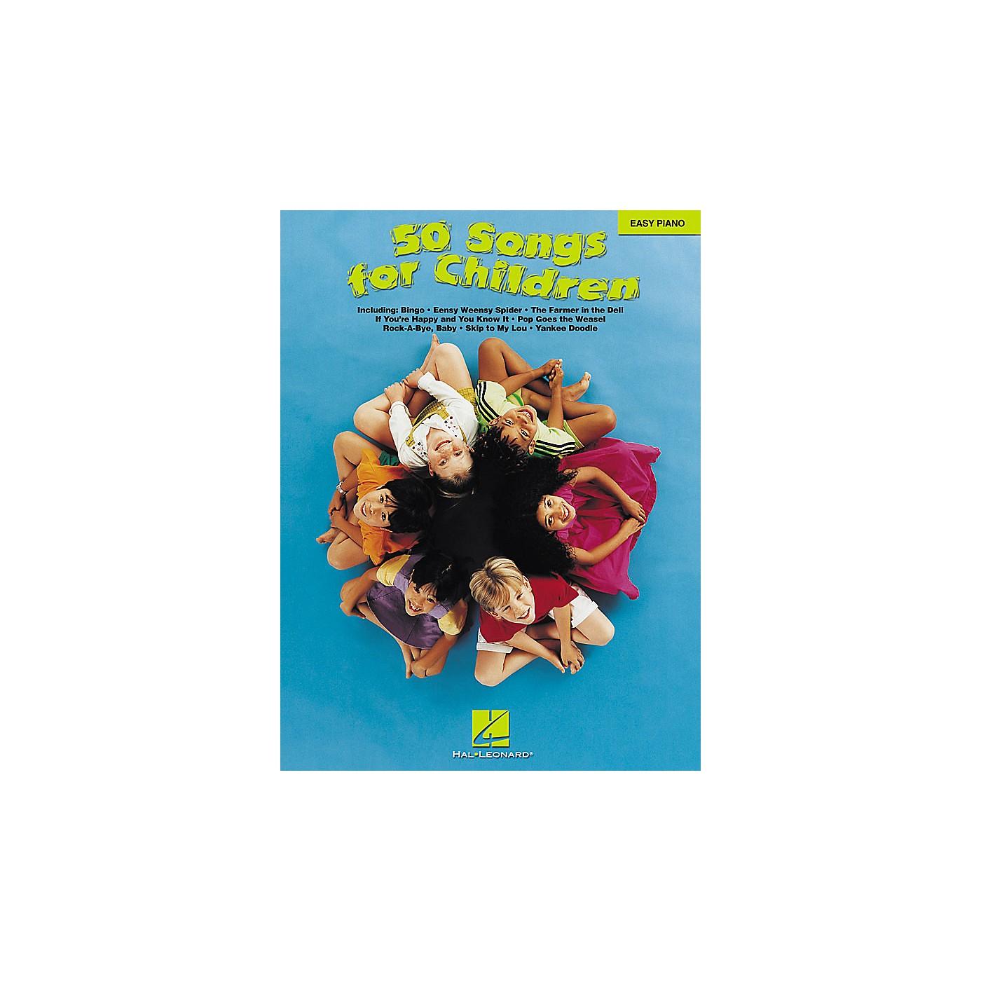 Hal Leonard 50 Songs For Children For Easy Piano thumbnail