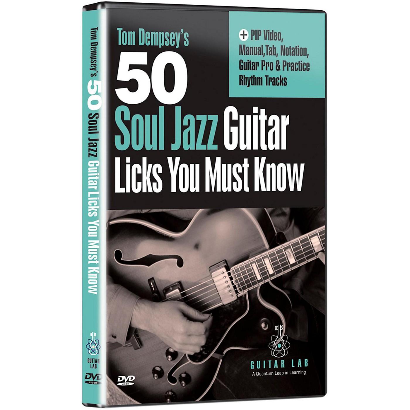 eMedia 50 Soul Jazz Licks You Must Know DVD thumbnail